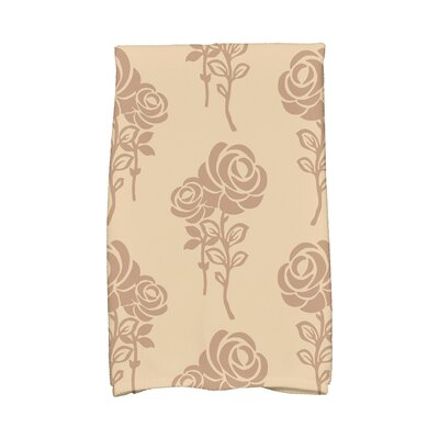 Carmen Hand Towel Color: Beige/Taupe