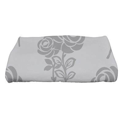 Carmen Floral Bath Towel Color: Gray
