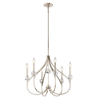 Orillia 6-Light Candle-Style Chandelier