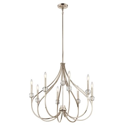 Orillia 8-Light Candle-Style Chandelier