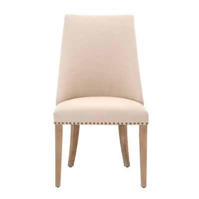 Parfondeval Side Chair Finish: Stone Wash