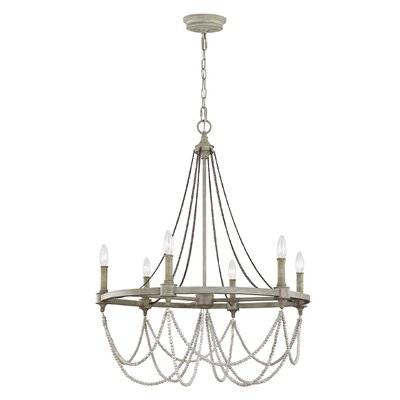Strasburg 6-Light Candle-Style Chandelier