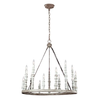 Montelimar 15-Light Candle-Style Chandelier