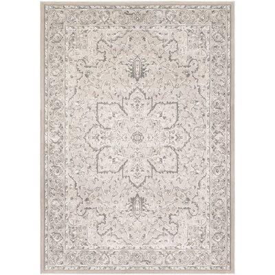 Arabi Pearl Area Rug Rug Size: 53 x 76
