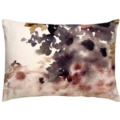 Oropeza Watercolor Lumbar Pillow