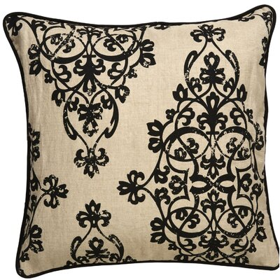 Orris Scroll Throw Pillow