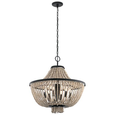 Capillaire 6-Light Crystal Chandelier