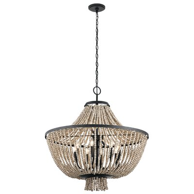 Capillaire 8-Light Crystal Chandelier