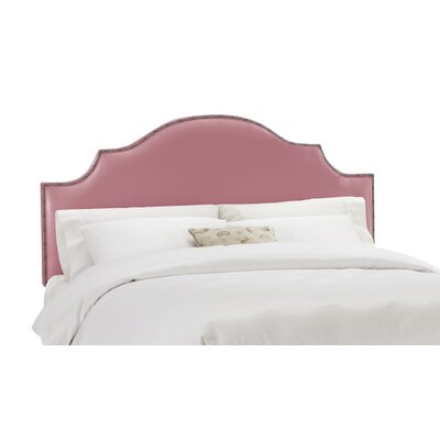 Orta Shantung Panel Upholstered Headboard Size: Queen, Finish: Shantung Woodrose