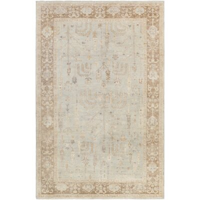 Loire Light Gray Area Rug Rug Size: Rectangle 6 x 9