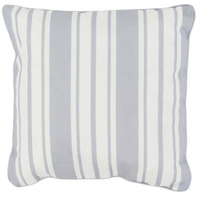 Louisa Outdoor Throw Pillow Size: 20 H x 20 W x 4 D, Color: Light Gray