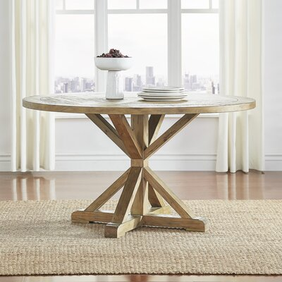Patricia Round Rustic Dining Table Size: 30 inch H x 72 inch W x 72 inch D