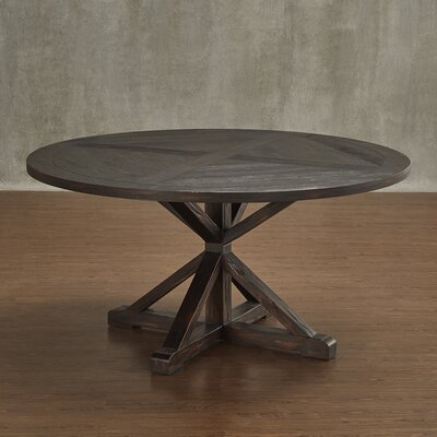 Andillac Dining Table Finish: Charcoal Brown