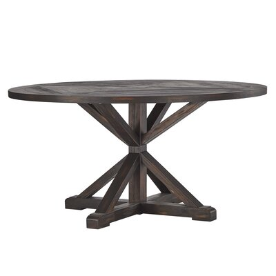 Lumpkin Dining Table Finish: Charcoal Brown