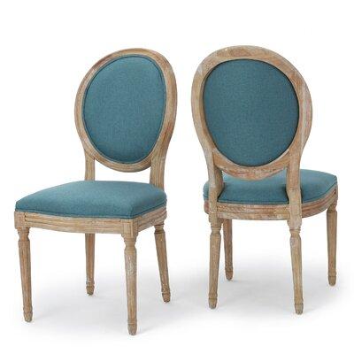 Deepstep Side Chair Upholstery: Dark Teal