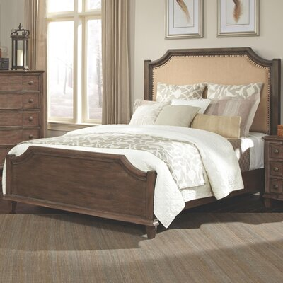 Beula Upholstered Panel Bed Size: King