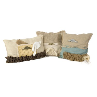 Waleska 3 Piece Teft Pillow Set