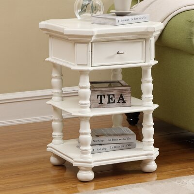 Grenoble 1 Drawer Chairside Table