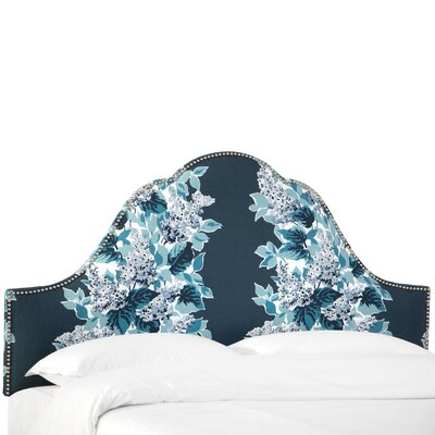 Fantine Arch Upholstered Panel Headboard Size: King
