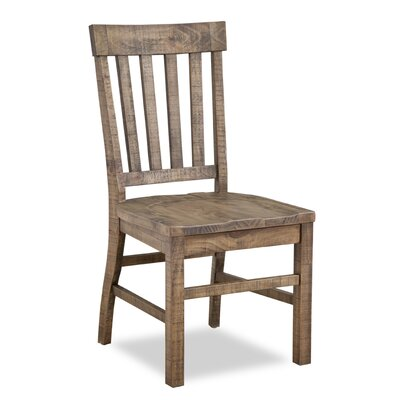 Devereaux Solid Wood Dining Chair (Set of 2)
