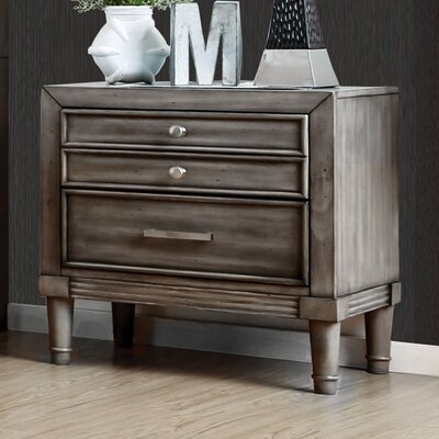 Saratoga 2 Drawer Nightstand