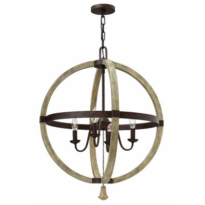 Oceane 4-Light Foyer Pendant