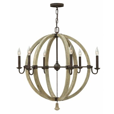 Oceane 6-Light Candle-Style Chandelier