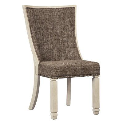 Alsace Traditional Dining Upholstered Side Chair (Set of 2)