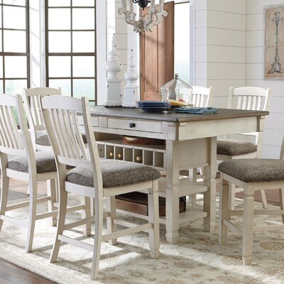 Alsace Rectangular Counter Height Dining Table