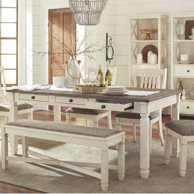 Sofie Rectangular Counter Height Dining Table