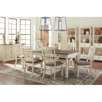 Alsace 7 Piece Solid Wood Dinning Set