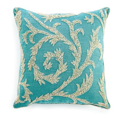 Buckley Sequin Throw Pillow Color: Turquoise