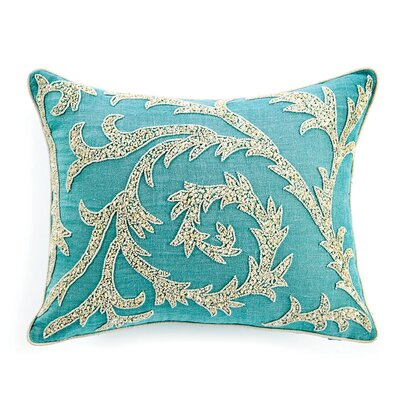 Buckley Sequin Lumbar Pillow Color: Turquoise