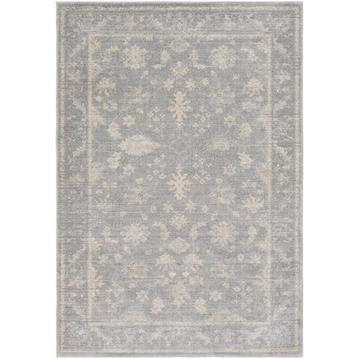 Capri Medium Gray/Taupe Area Rug Rug Size: Rectangle 2 x 3