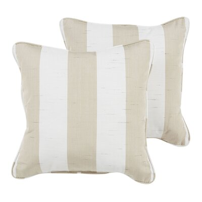 Sienna Indoor/Outdoor Sunbrella Throw Pillow Size: 22 H x 22 W x 6 D