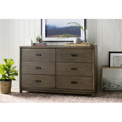 Camilla 6 Drawer Double Dresser