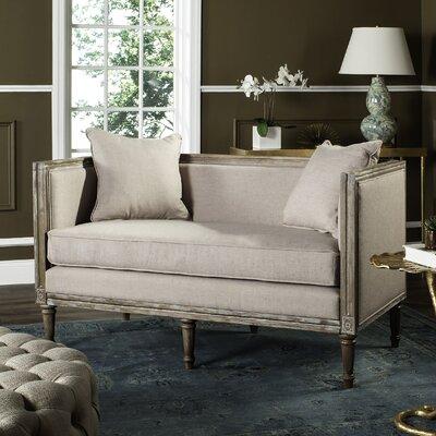 Yaelle Settee Upholstery: Taupe