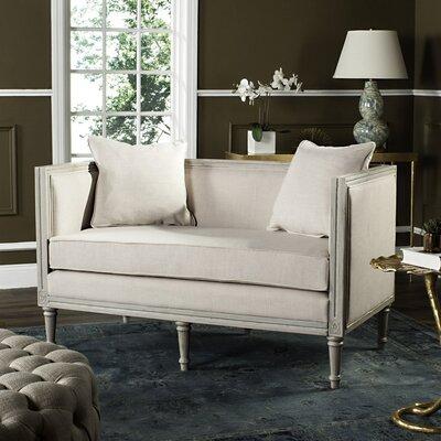 Yaelle Settee Upholstery: Grey