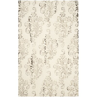 Sawyer Ivory/Taupe Area Rug Rug Size: Rectangle 8 x 10