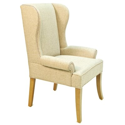 Tabitha Arm Chair Body Fabric: LENA WHITE
