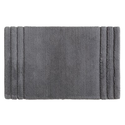 Fressia Bath Rug Size: 20 W x 34 L, Color: Gray
