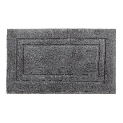 Lyam Bath Rug Size: 20 W x 34 L, Color: Gray