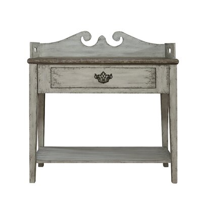 Chambray Weathered End Table