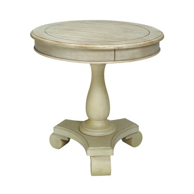 Verendrye End Table Color: Antique White