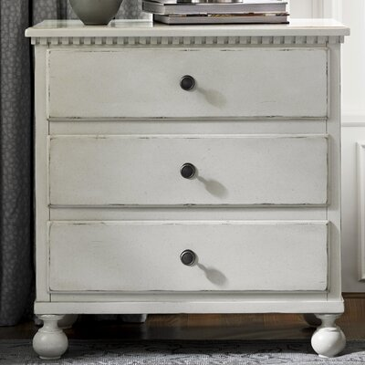 Mikah 3 Drawer Nightstand