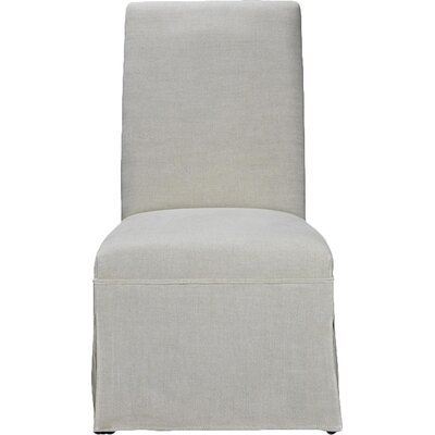 Mikah Upholstered Slipper Chair (Set of 2)