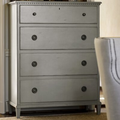 Mikah 4 Drawer Gentlemans Chest