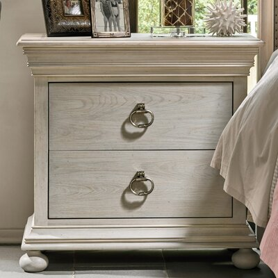 Effie 2 Drawer Nightstand