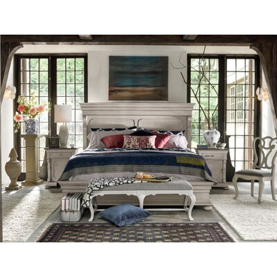Effie Panel Bed Size: King