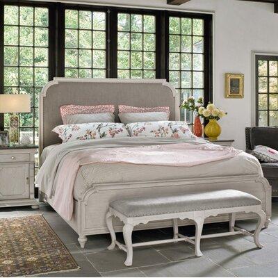 Effie Upholstered Panel Bed Size: King